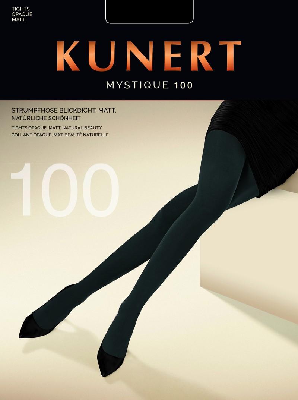 Gładkie idealnie kryjące rajstopy Mystique 100 marki KUNERT